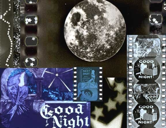 """Collage made from images from the Muse of Cinema-2004, """"GoodNight"""""""