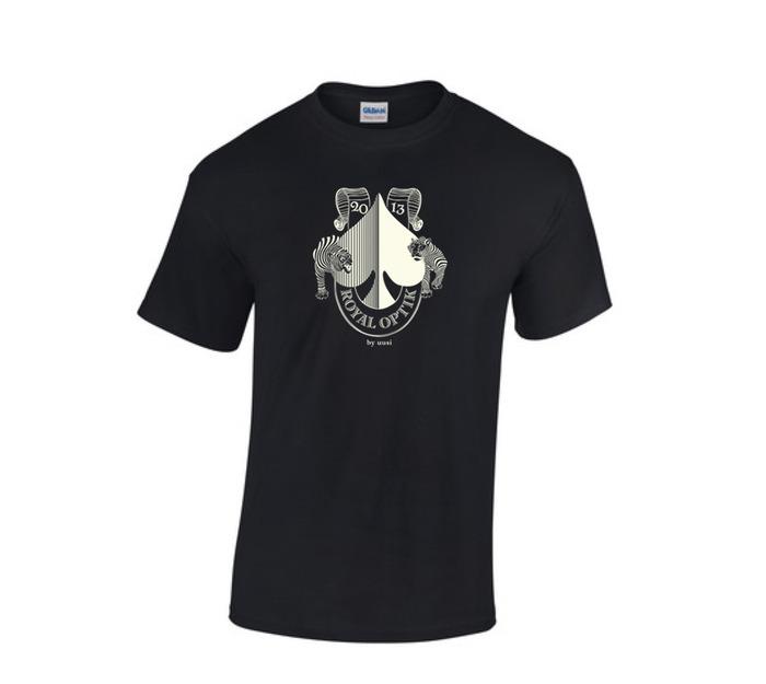 Royal Optik Ace of Spades T Shirt
