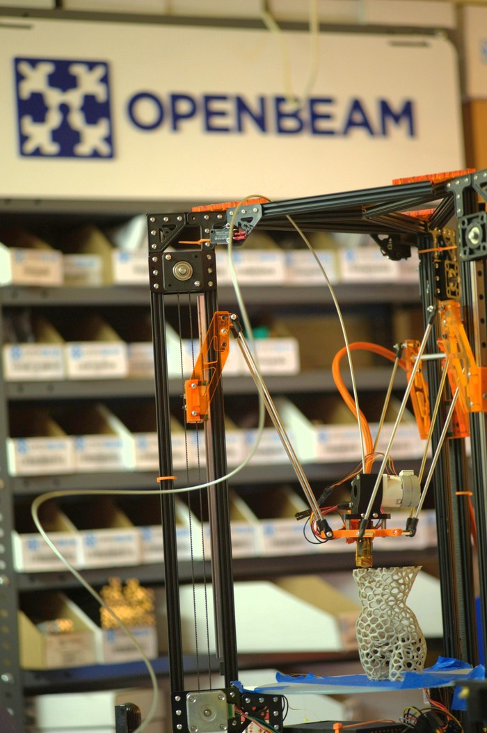OpenBeam Kossel Pro - Prototype-03 - at Metrix Create:Space