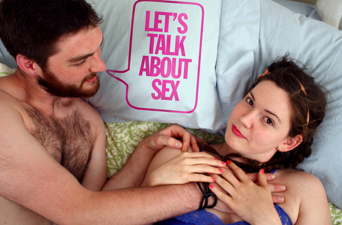 Pillow talk! Get consensual in bed