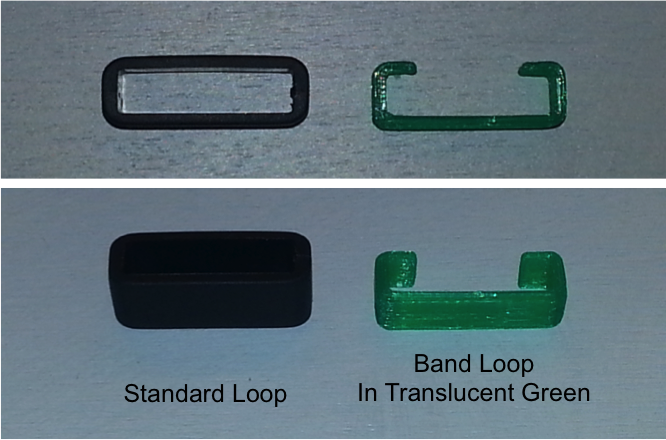 Watch Band Loops
