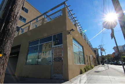 Linea Caffe Location - Looking down San Carlos St. where outdoor seating will be added