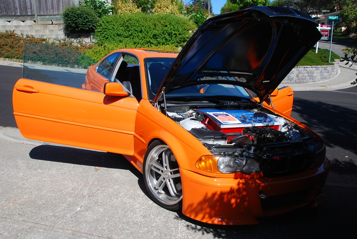 Example of our previous projects: Our BMW 3-series Electric Conversion prototype