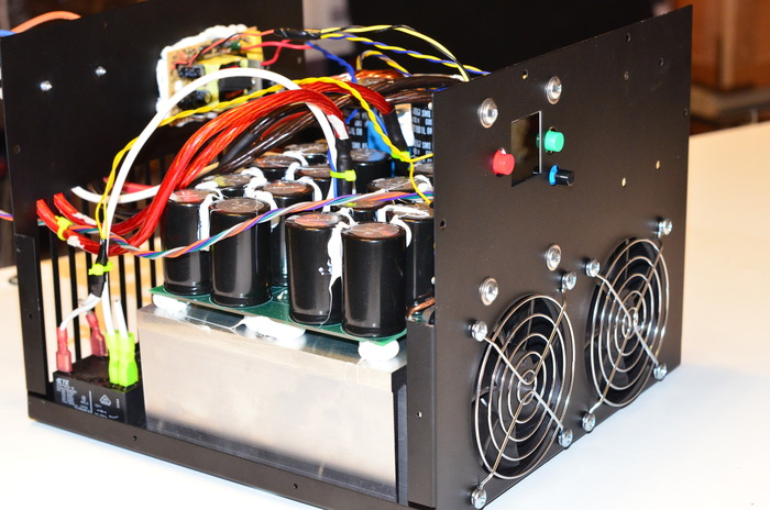 Example of our previous projects: Our 12kW Open Source charger for EV Conversions - over 100 shipped