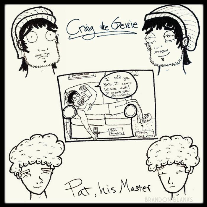 Original Craig the Genie Sketches (Aug 2010)