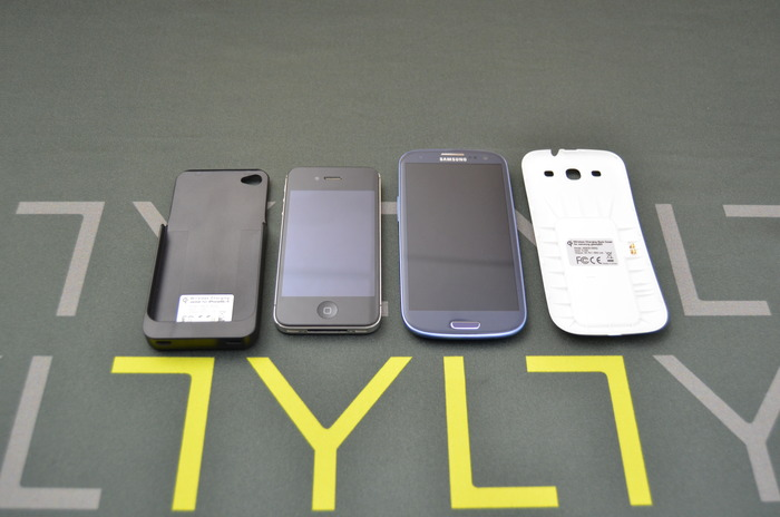Optional iPhone 4/S Sleeve and Galaxy S3 Back door adapters (iphone 5 and Galaxy S4 Not Available)