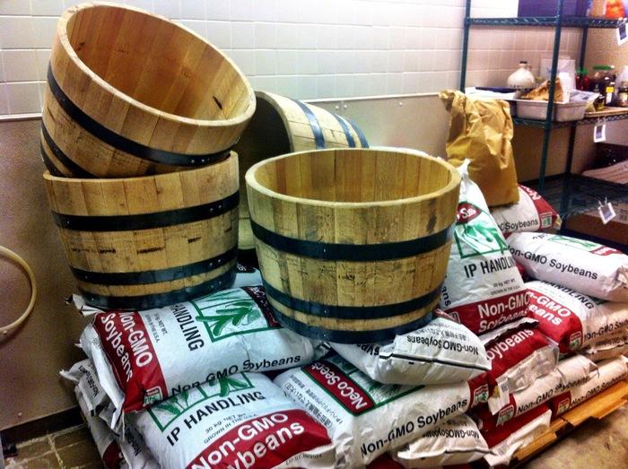 Aged Missouri Oak Barrels for Miso