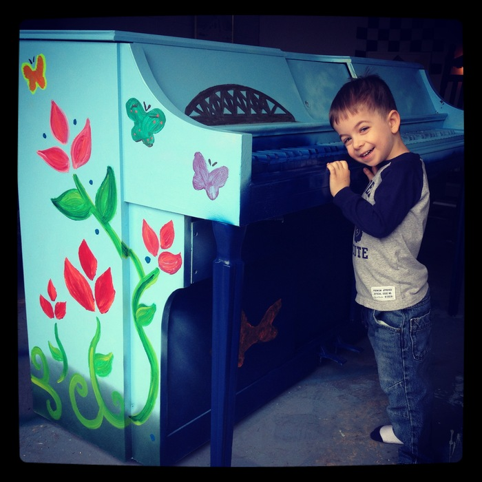 Imagine how many kids would love to see and play pianos outdoors this summer...