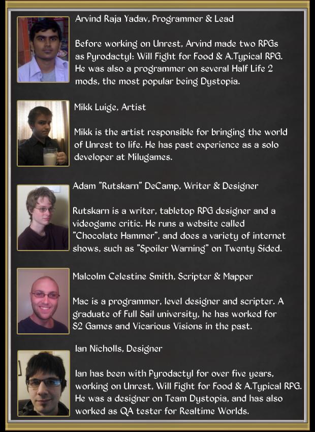 Pyrodactyl Team Members