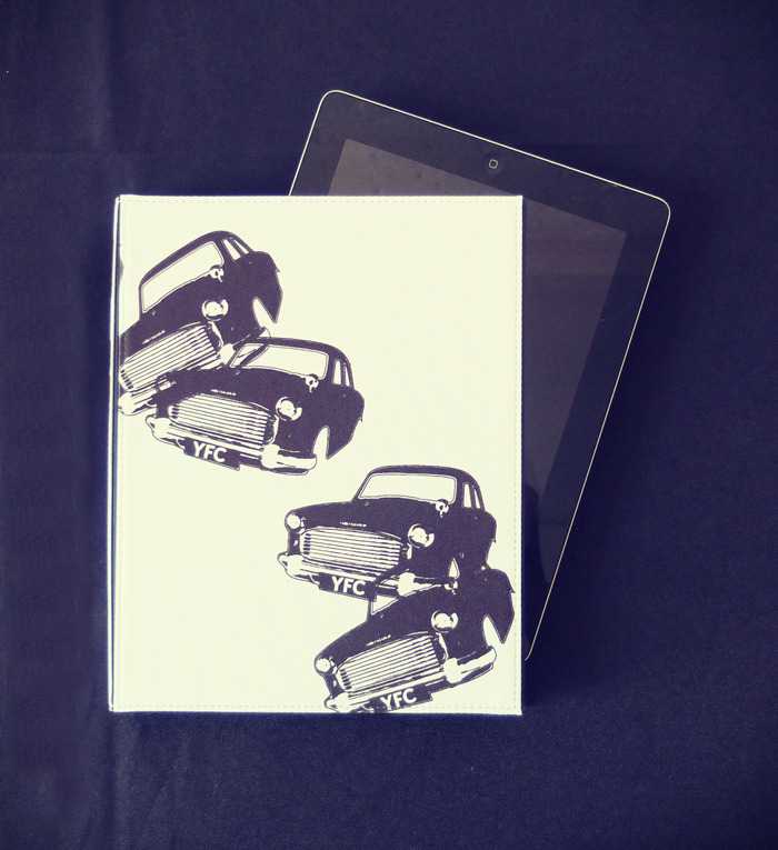 This is not the exact design. This is an example of the layout of what the cases will look like for IPADS!