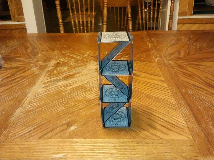 It's a Stair Well of Cards!
