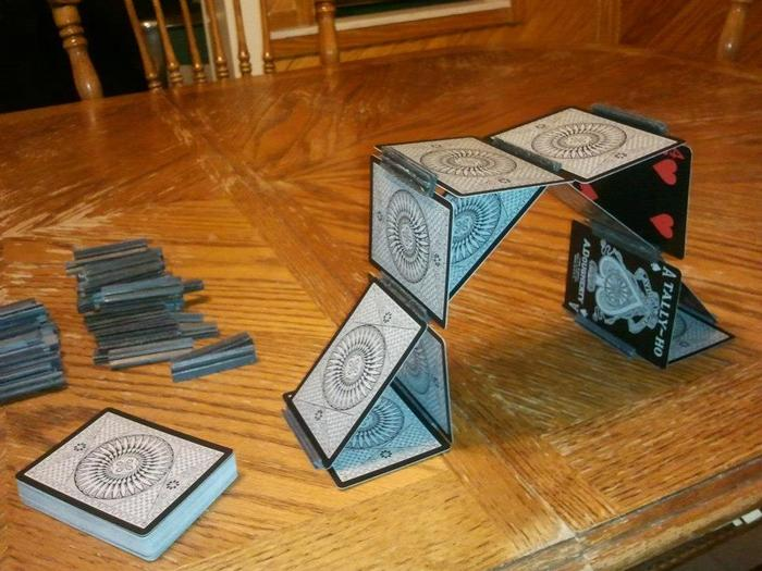 How about an Arch of Cards?