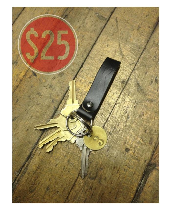 Keychain handmade in house.
