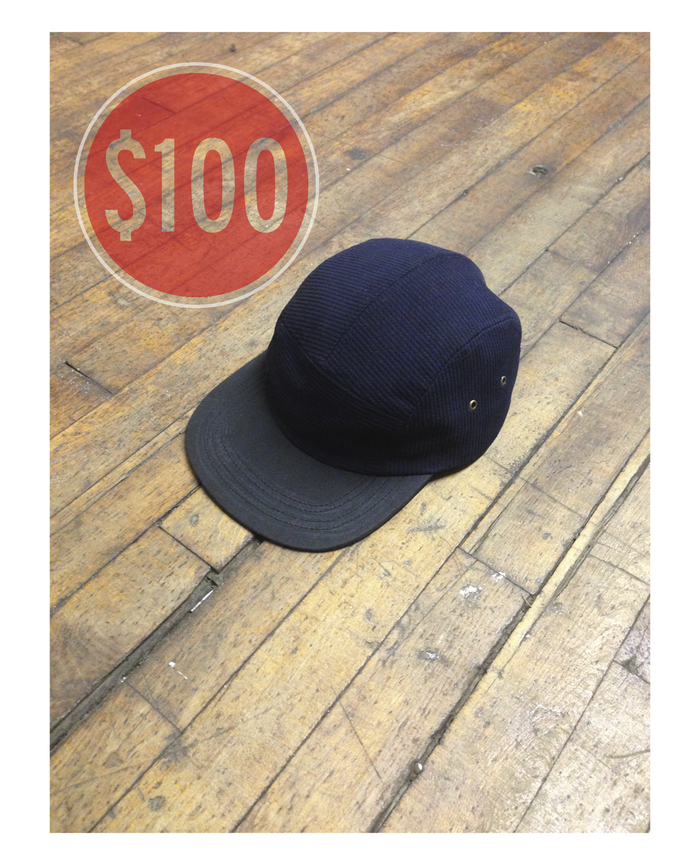 Our five panel camp cap.