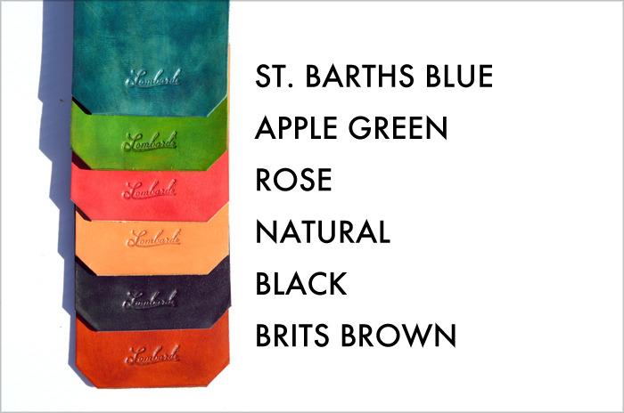 Lombardi Leather Studio Colors