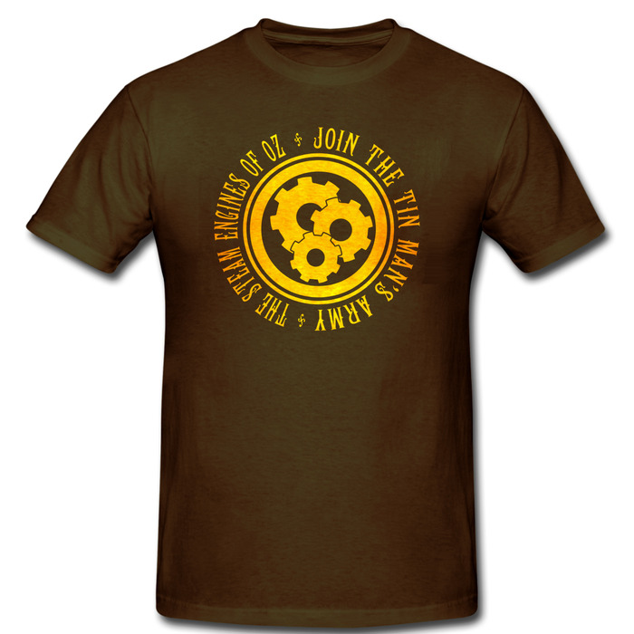 Tin Man's Army Emblem T-Shirt