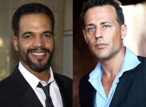 (Actors Kristoff St. John and Louis Mandylor)