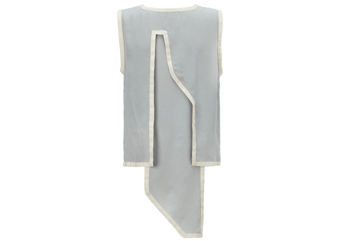 BACK - Pledge $174 and select the SILK TOP (GREY) PLAN 1 to get this piece - retail price $289