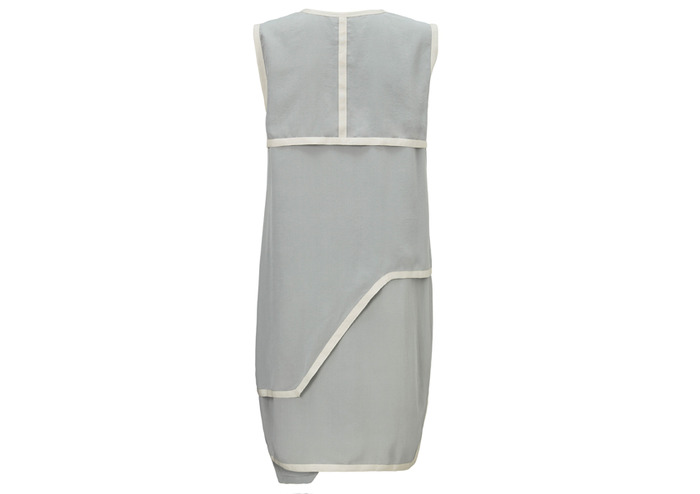 BACK - Pledge $229 and select the SILK DRESS (GREY) PLAN 1 to get this piece - retail price $399