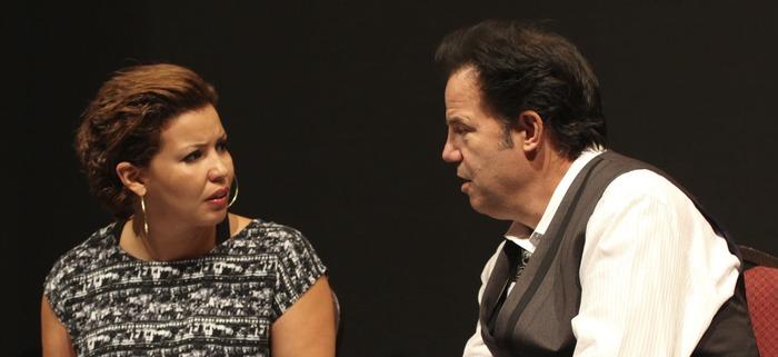 Justina Machado (ROSIE SICUSO) and Kenny D'Aquila (GINO SICUSO)
