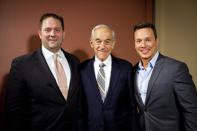 Jeremy Richter, Ron Paul, Ben Swann