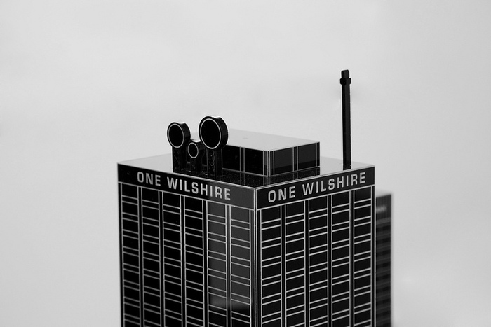 One Wilshire, Scale Model