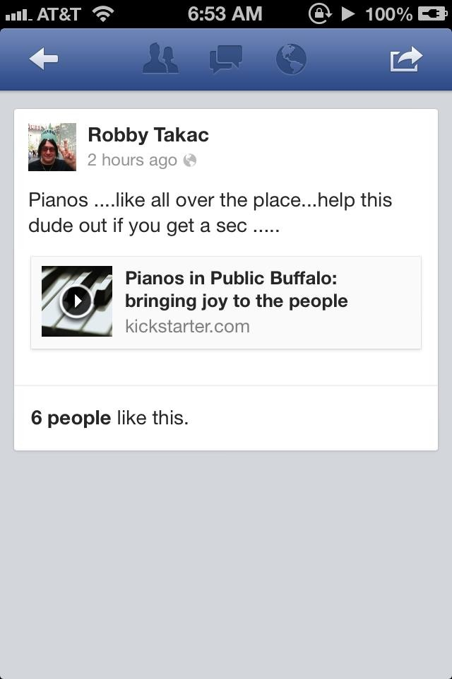 Holy moly, Robby from the GOO GOO DOLLS told his friends and fans to pledge! AWESOME!