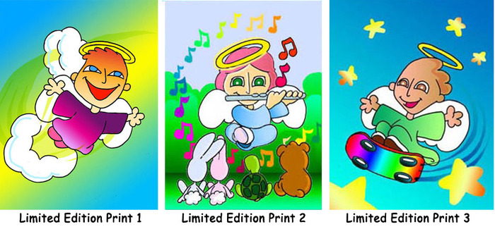 These are the Limited Edition Prints mentioned in the Donations