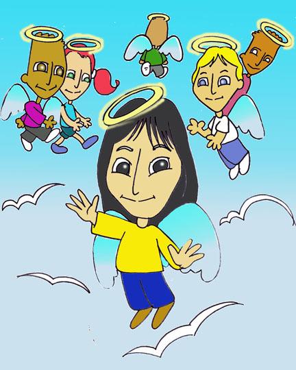 Angels On Cloud Nine