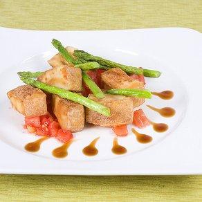 Stylish vegetarian food