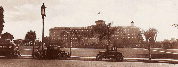 The Ambassador Hotel, Los Angeles circa 1921