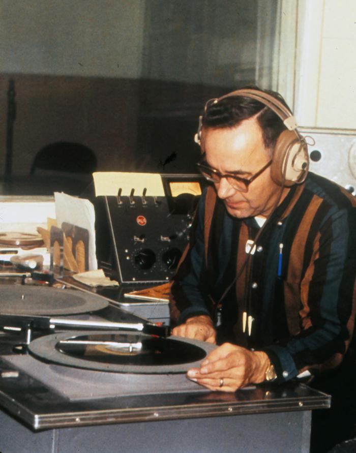 Vince Joy on air (1964)