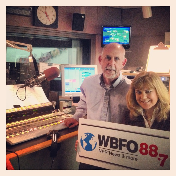 Thank you WBFO for the interview on your popular morning show!