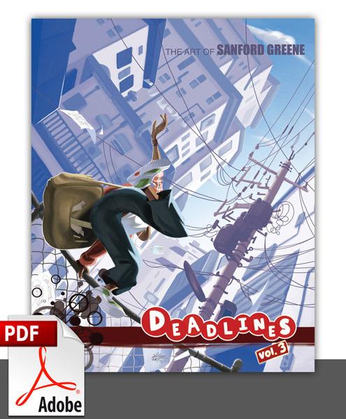 Deadlines VOL. 3 PDF edition.