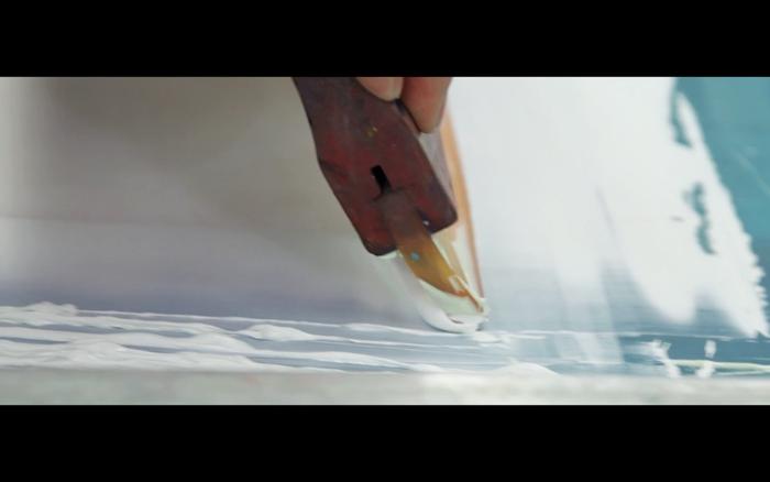 Prototype Hand Print-Mesh Testing