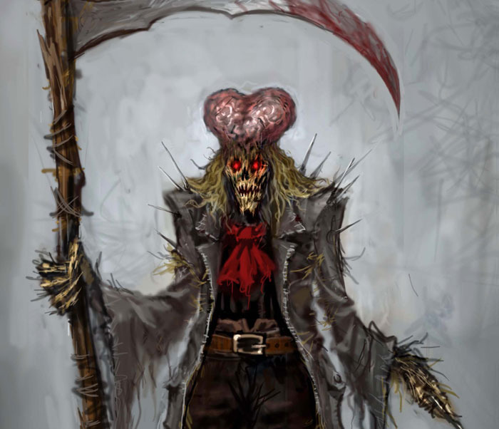 """Scarecrow"" -- illus."