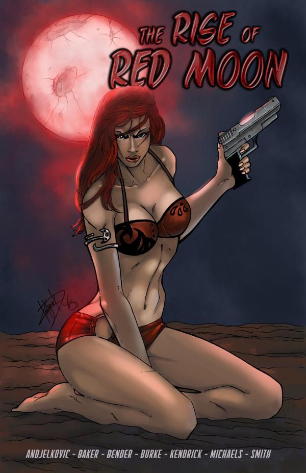 Cover Art by Damion Kendrick and Colors by Veronica Smith