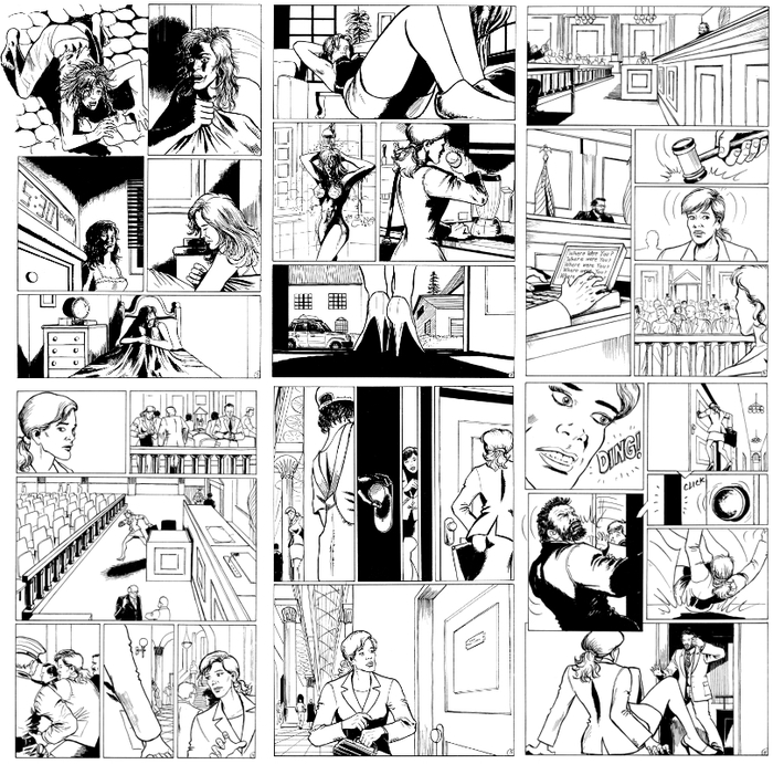 Pages 1-6 inked by Milan Andjelkovic