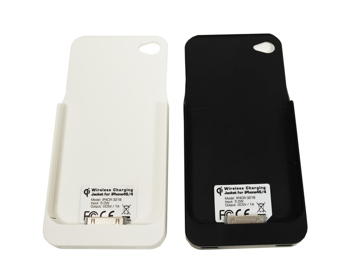 iPhone 4/S charging sleeves- we now offer white and black