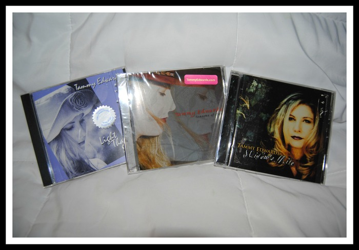 Tammy's CD's Light That Shines, Seasons of Love and Widow's Mite