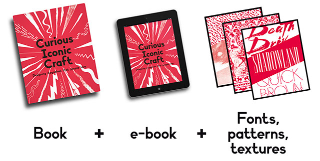 Pledge £20 and receive Curious Iconic Craft, the e-book and a digital pack.