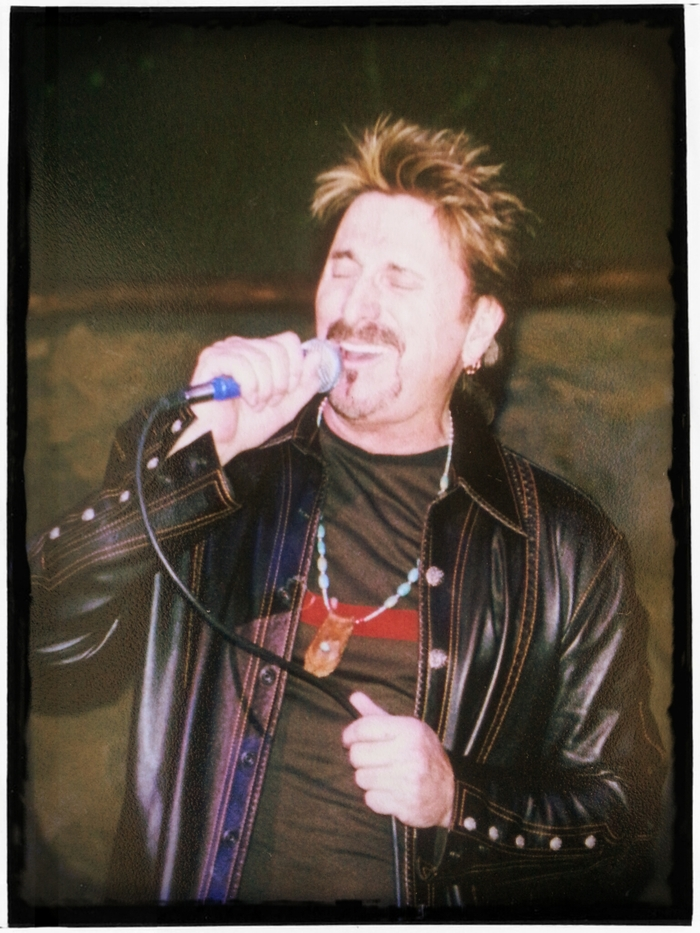 One Of A Kind Leather Jacket worn onstage by Chuck Negron