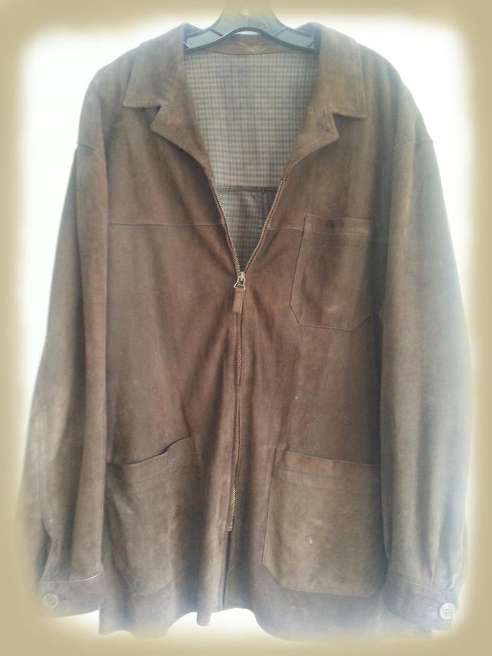Brown Suede Jacket Worn By Chuck Negron.
