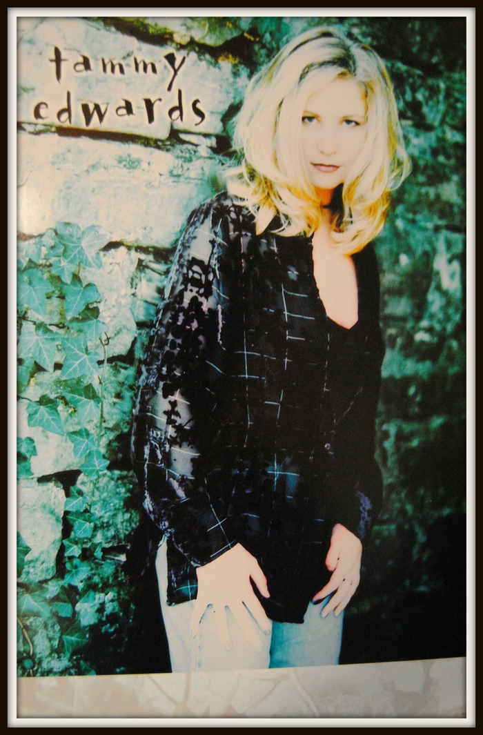 """Tammy Edwards poster from the """"Widow's Mite"""" CD"""