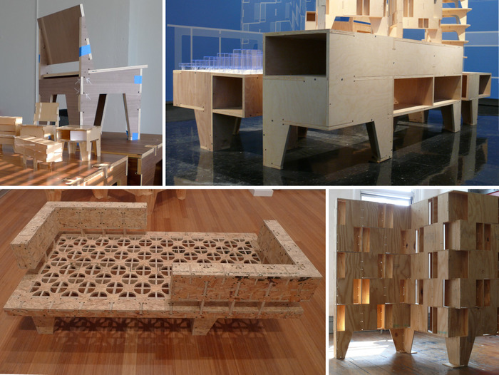 A few of the many AtFAB furniture prototypes, exhibitions and installations. CLICK to learn more.