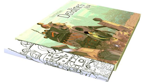 Slipcase edition. Book inside slipcase.