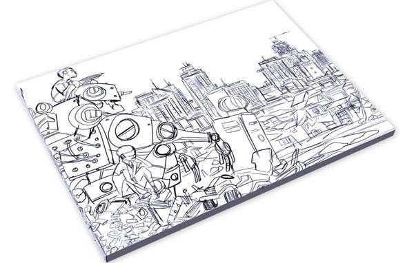Slipcase edition. Book outside slipcase.