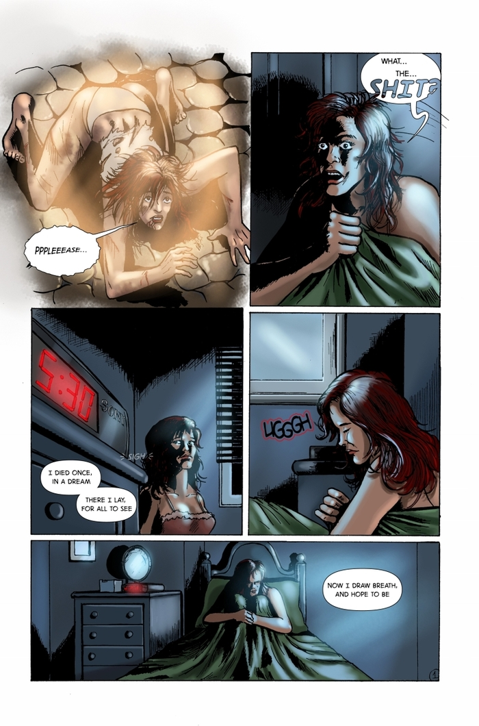Colors by Veronica Smith, Lettering by Ray Burke