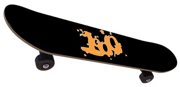 Skateboard deck TOP. 1000 logo.