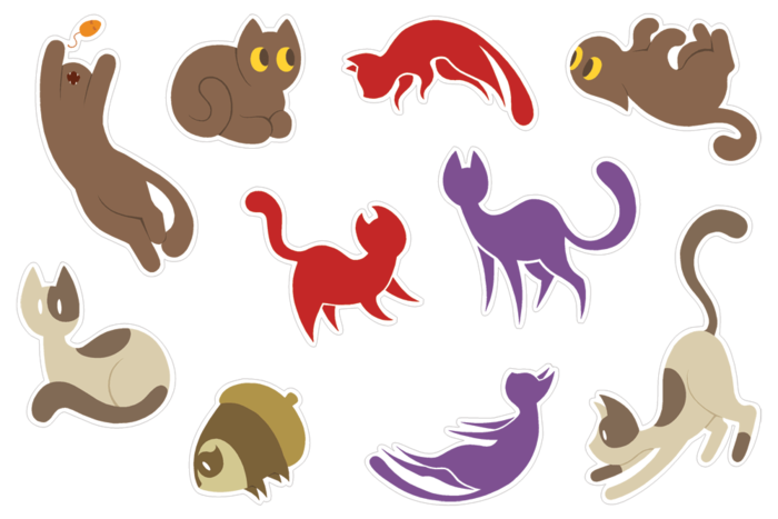 Sticker sheets for all book tiers! ADORABLE!